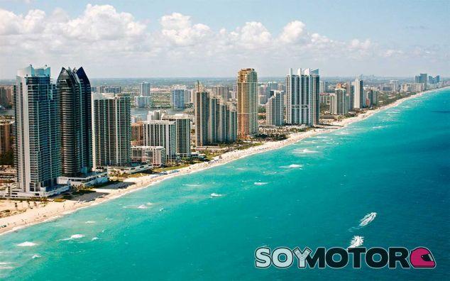Vista de la ciudad de Miami, Florida - SoyMotor