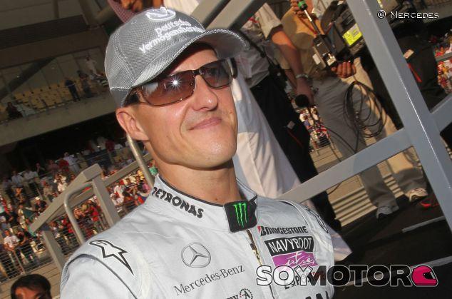 El cerebro de Schumacher quedó dañado en su accidente de 2009