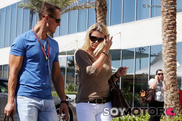 """Corinna: """"Echo de menos a Michael cada día. Está aquí, pero es diferente"""" - SoyMotor.com"""