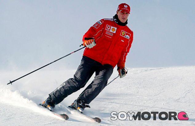 Michael Schumacher, en coma inducido tras su accidente de esquí