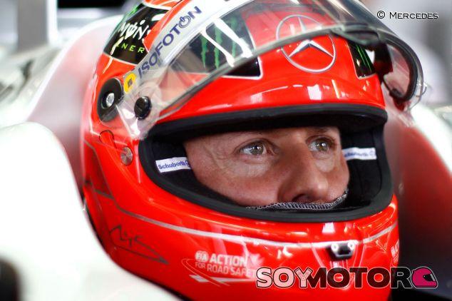 Michael Schumacher en 2012 - LaF1