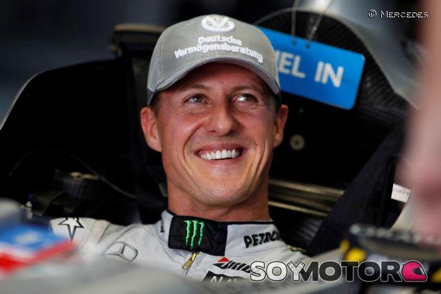 Michael Schumacher en la temporada de 2010 - LaF1