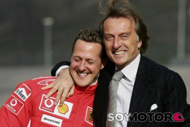 "Montezemolo recuerda a Schumacher pese a su ""terrible"" situación - LaF1"