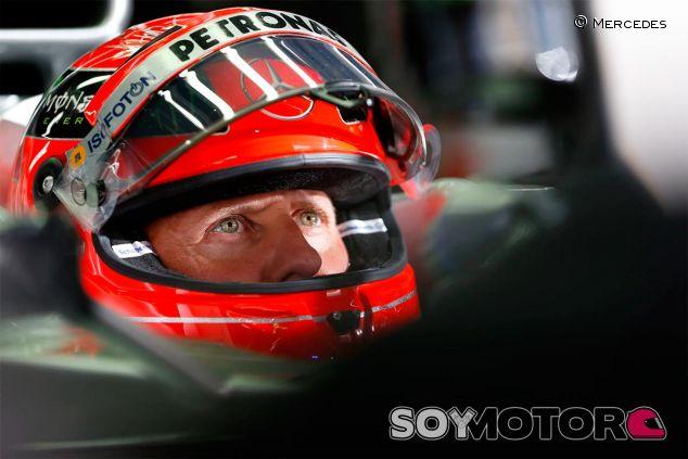 Michael Schumacher en una imagen de archivo - SoyMotor