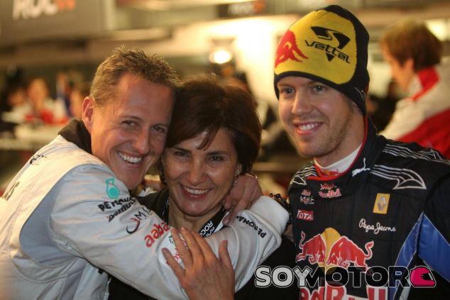 Schumacher y Vettel mantenían una relación muy cercana fuera de las pistas - LaF1