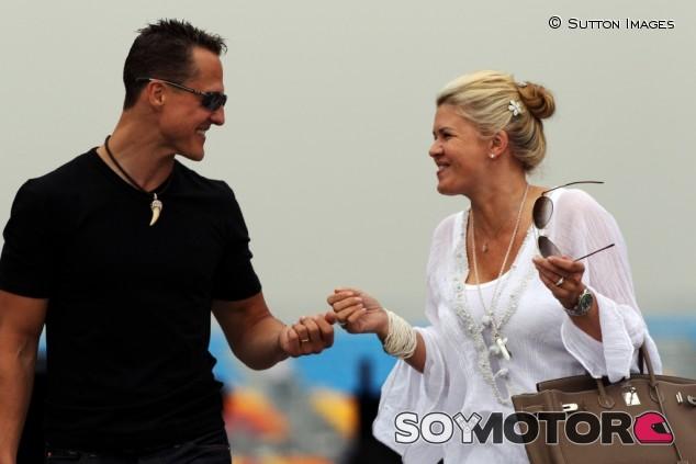 """Corinna agradece a Michael """"por haberlo hecho todo por mí, no me olvido"""" – SoyMotor.com"""