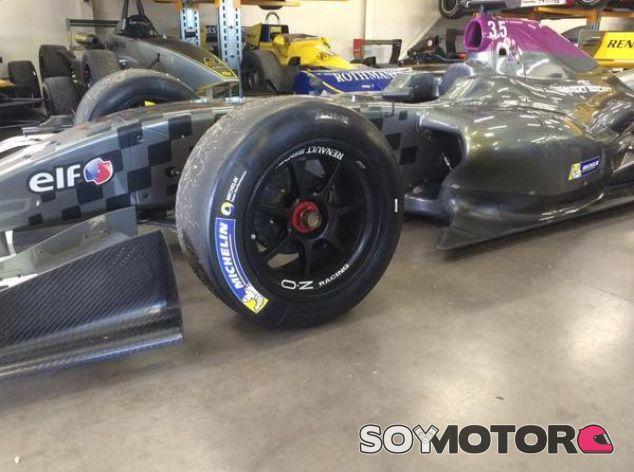 Michelin ya ha fabricado unos neumáticos de 18'' para las World Series - LaF1