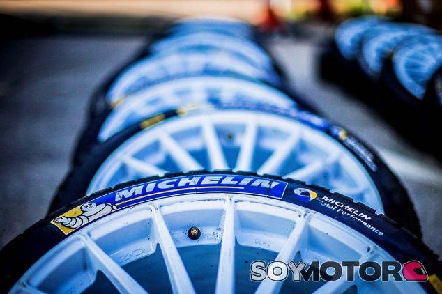 Neumáticos Michelin para el Mundial de Rally - SoyMotor.com