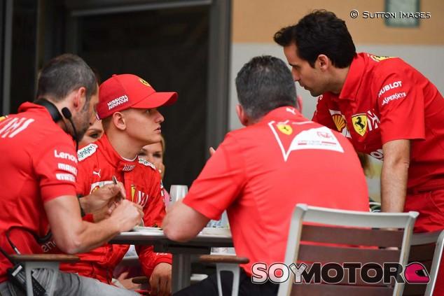 Mick Schumacher en los test de Baréin - SoyMotor