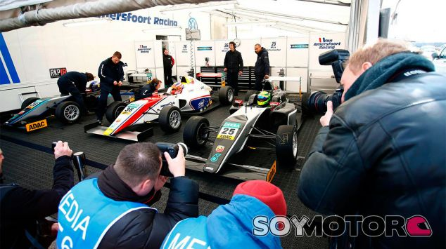 Mick Schumacher en una imagen de archivo de 2015 - LaF1