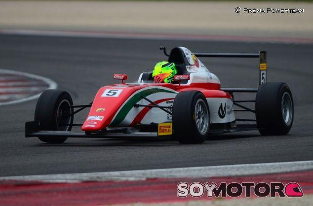 Mick Schumacher en la F4 - SoyMotor