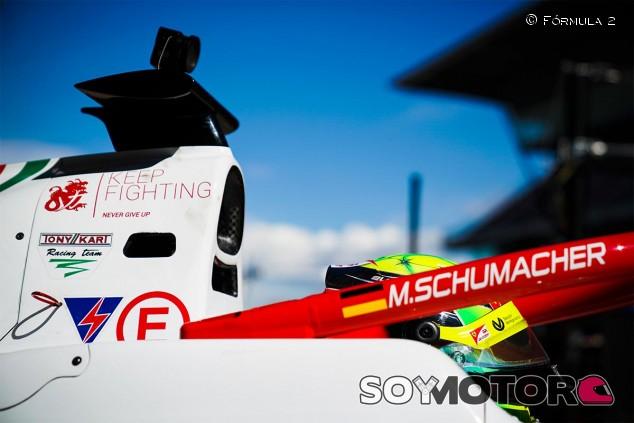 Mick Schumacher en los test de pretemporada - SoyMotor