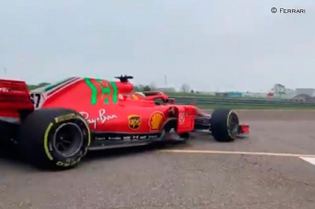 Schumacher e Ilott completan un test en Fiorano con el Ferrari SF71H - SoyMotor.com