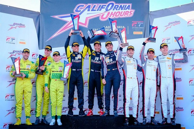 Miguel Molina se impone en las 8 Horas de California - SoyMotor