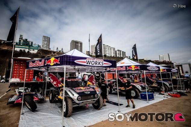Sainz ya ha pasado las verificaciones técnicas del Dakar