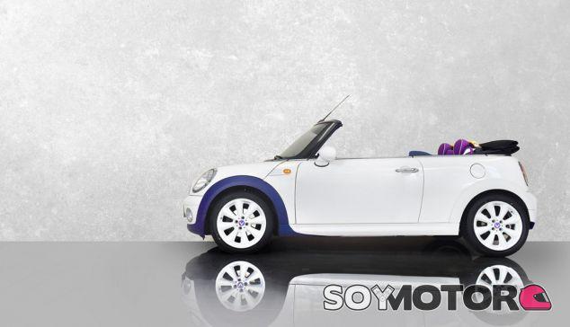 El Mini Cabrio 2010 de Tyan Lynn es de todo menos discreto - SoyMotor