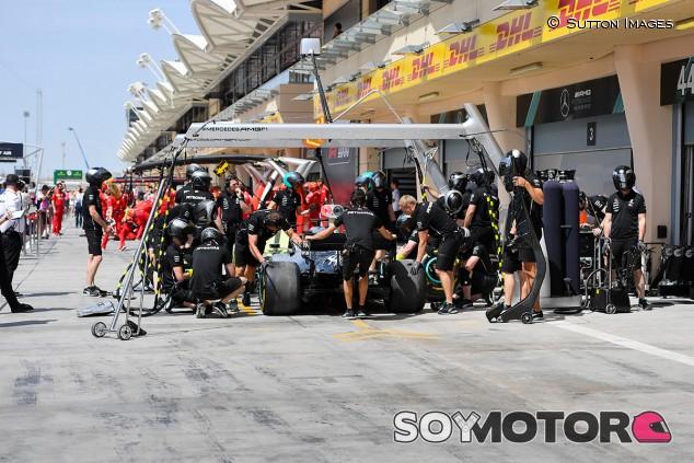 Escena de los Libres 1 del GP de Baréin F1 2019 - SoyMotor