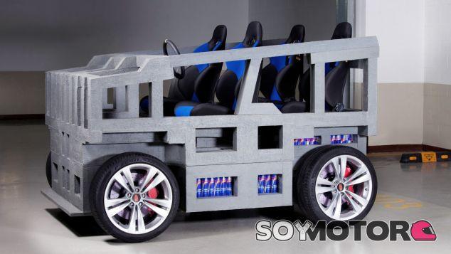 Mirrow Provocator: el Smart para cuatro de las 800 latas de Red Bull - SoyMotor.com