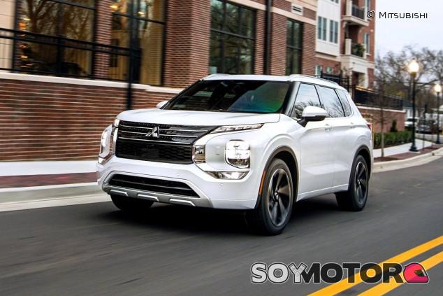 Mitsubishi Outlander 2022: la nueva generación, primero en Estados Unidos - SoyMotor.com