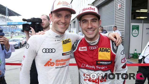 Jamie Green y Miguel Molina en una imagen de la sesion de clasificación - LaF1