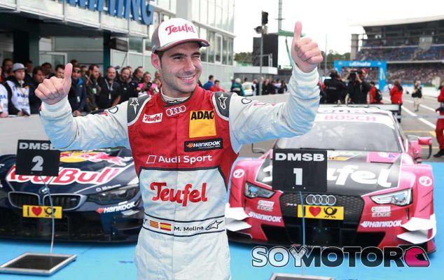 Miguel Molina celebra su victoria en Hockenheim - LaF1