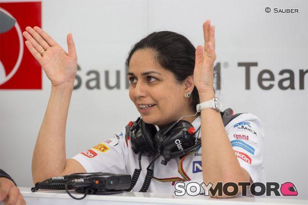 Monisha Kaltenborn, jefe del equipo Sauber - LaF1
