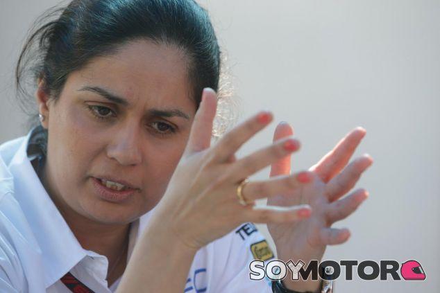 Monisha Kaltenborn habla sobre el papel de la mujer en el Mundial - LaF1