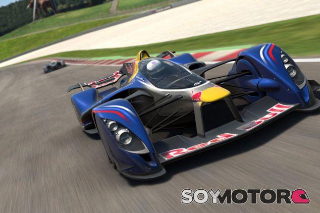 Red Bull X2014, monoplaza conceptual del videojuego Gran Turismo - LaF1