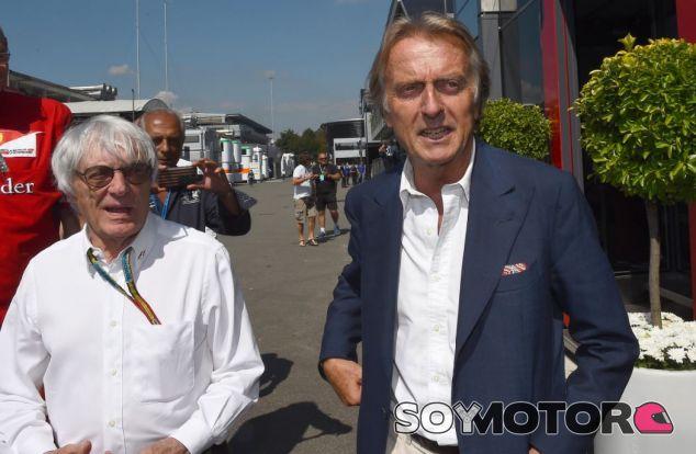 Montezemolo junto a Ecclestone en 2014 - SoyMotor