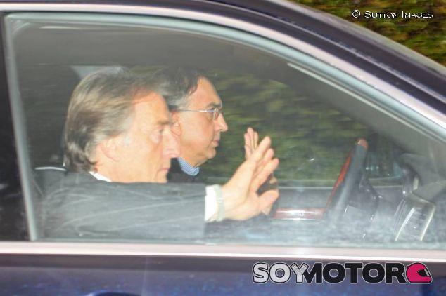 Sergio Marchionne y Luca di Montezemolo, en 2011 - LaF1