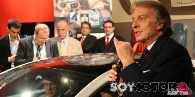 Luca di Montezemolo en el Salón de Ginebra - LaF1