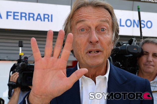 Luca di Montezemolo en Monza - SoyMotor.com
