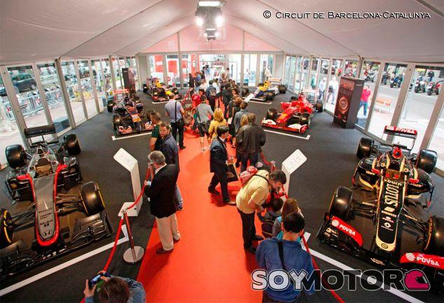 Exhibición de monoplazas de F1 en el corazón de Barcelona - LaF1