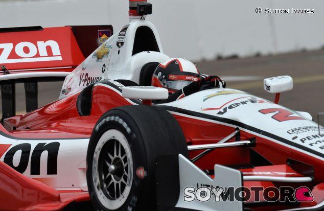 Juan Pablo Montoya en la cita inaugural de la temporada de la IndyCar, en St. Petersburg - LaF1