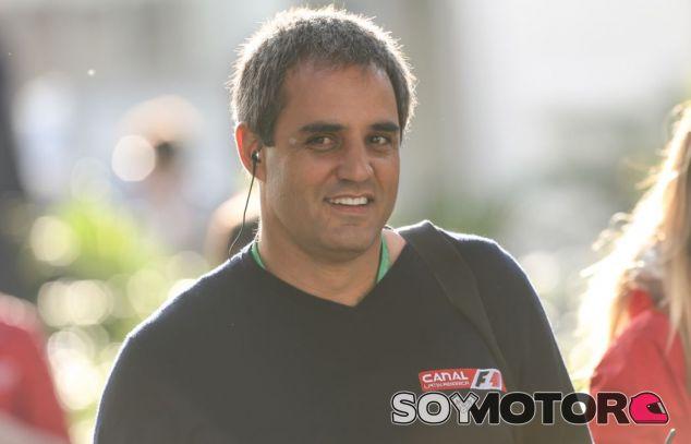 Juan Pablo Montoya en el GP de México - SoyMotor