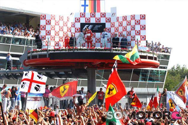 Michael Schumacher se despidió de los tifosi en 2006 con una victoria en el Autodromo Nazionale - LaF1