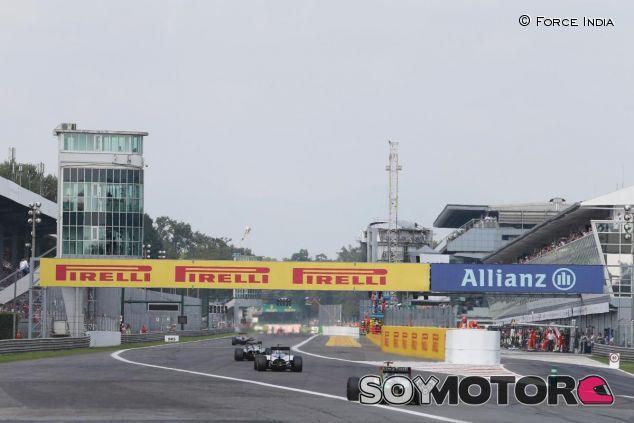 Recta principal del circuito de Monza - LaF1
