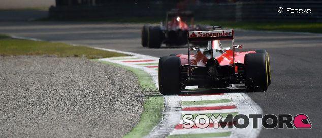 Escena del Gran Premio de Italia - laF1