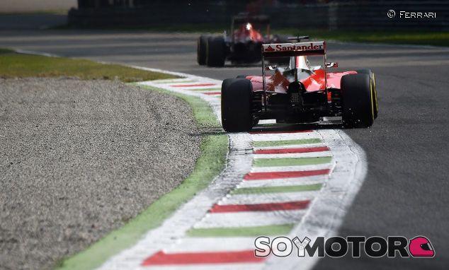 Escena del GP de Italia en Monza - LaF1