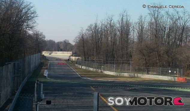 Adiós al famoso puente Dunlop de Monza - SoyMotor.com