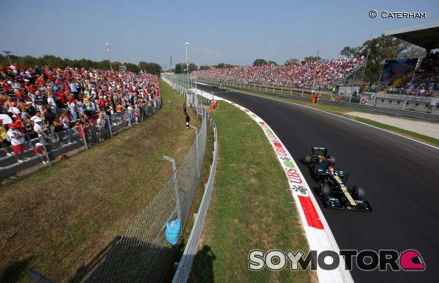 Heikki Kovalainen en el Gran Premio de Italia de 2012