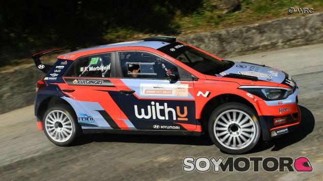 Morbidelli correrá el Rally de Monza con un Hyundai i20 R5 - SoyMotor.com