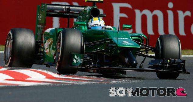 Caterham estrenará un nuevo alerón delantero en Bélgica - LaF1.es