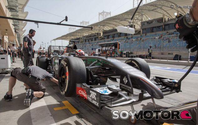 Sauber en el Gran Premio de Baréin - LaF1
