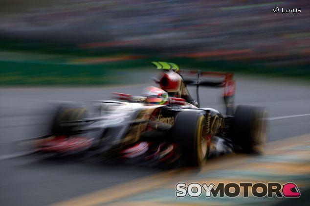Pastor Maldonado en el Gran Premio de Australia - LaF1