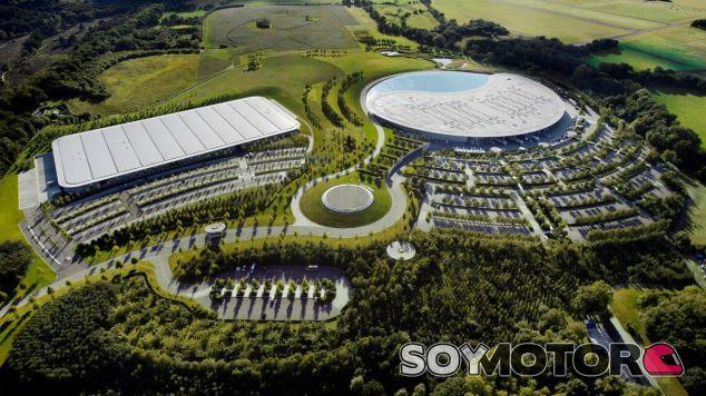 Fábrica de Woking del Grupo McLaren – SoyMotor.com