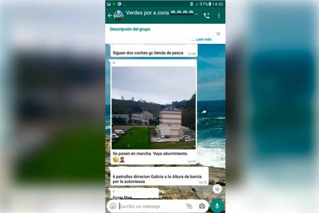 La Guardia Civil propone multar a 18 personas por compartir imágenes de los controles