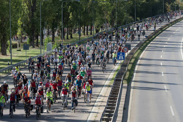 Protesta durante el IAA Mobility 2021 - SoyMotor.com
