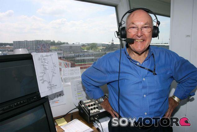 Murray Walker en Silverstone  - LaF1