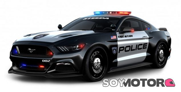 Ford Mustang Interceptor policia -SoyMotor